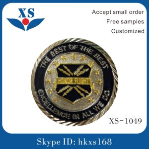 OEM Factory Soft Enamel Police Badge