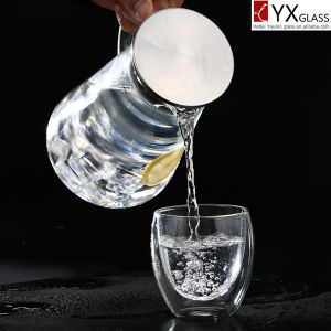 Cold Brew Coffee Maker 1000ml Glass Water Pitcher Carafe Borosilicate Handmade and Mouthblown pictures & photos
