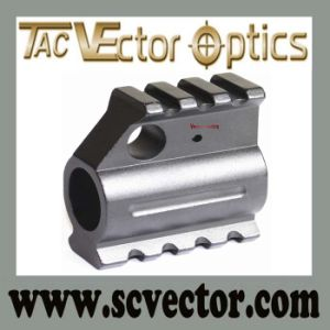"Vector Optics Slant Style Low Profile Picatinny Rails Gas Block Barrel Mount 0.75"" pictures & photos"