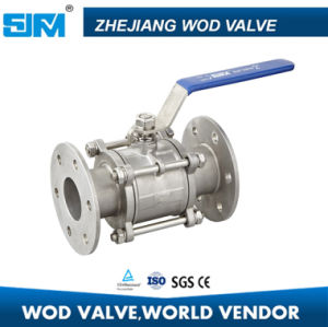 Stainless Steel Flanged Ball Valve (Q11F-3) pictures & photos
