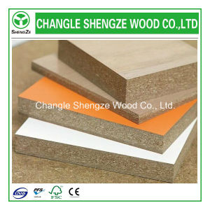 Melamine Particle Board in Different Size and Thickness pictures & photos