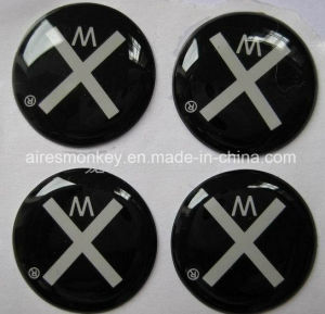Black Crystal Sticker/Resin Epoxy Sticker pictures & photos