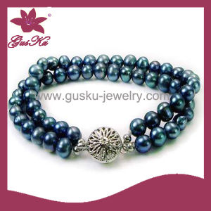 2015 Plb-011 Latest Popular Wholesale Pearl Bracelet pictures & photos