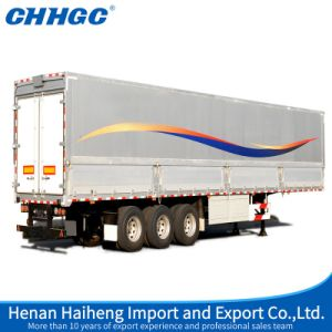 Van Box Type Semi Trailer Carrying Home Appliance pictures & photos