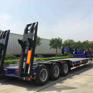 ISO CCC SGS Approved Low Bed Semi Trailer pictures & photos