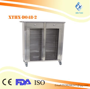 Factory Direct Price Hospital File Patient Records Medical Trolley with Drawers pictures & photos