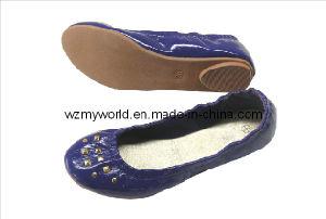 Fashion Ladies Flat Shoes (MY-X02-0009)