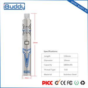 Hottest Upper-Intake Design 2.0ml Tank Electronic Cigarette Atomizer pictures & photos