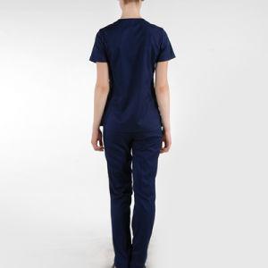 European Fashion Nurse Uniform/ Medical Scrubs Wholesale /Hospital Uniform pictures & photos