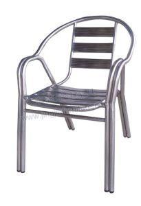 Aluminum Patio Outdoor Garden Stainless Dining Chair (JJ-AK03)