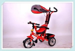 China Baby 4 in 1 Stroller Children Bike High Quality Kids Tricycle pictures & photos