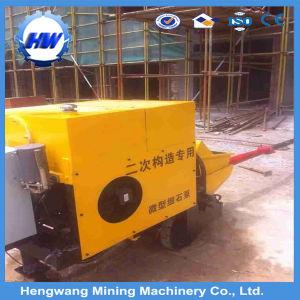 Fine Stone Concrete Pump for Block Construction on Building/Bridge/Block pictures & photos