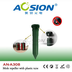Battery Operated ABS Plastic Vibrator Mole Repeller