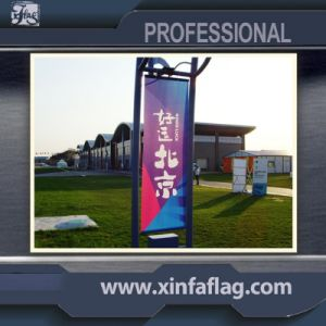 High Quality Street Flag, Polyester Road Flag Banner pictures & photos