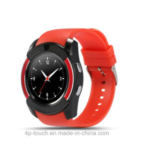 "Smart Watch Phone with 1.22"" Touch Screen (W8) pictures & photos"
