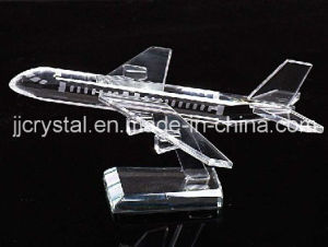 Crystal Model Plane for Table Decoration or Gifts pictures & photos