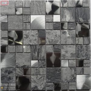 Metal Mixed Glass Mosaic Tile pictures & photos