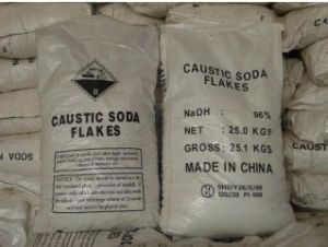 Hot Sale (Sodium Hydroxide) Caustic Soda Flakes 99% 96% pictures & photos