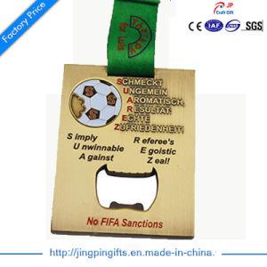2D Zinc Alloy Metal Souvenir Award Sport Medal with Ribbon pictures & photos