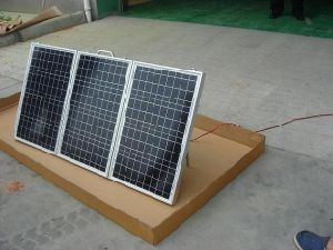 Folded Mono Solar Panel 120W (40W in each side) pictures & photos