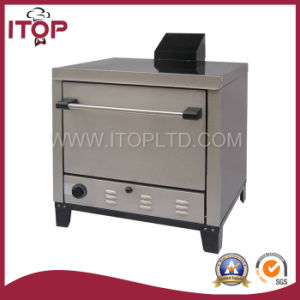 Commercial Stainless Steel Gas Pizza Deck Oven (POG-76) pictures & photos