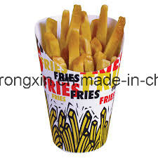 Food Grade PE Coated French Fries Packaging Board Paper pictures & photos
