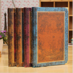 Fashion Vintage Style Notebooks (QCNB-68)