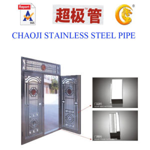 SUS201, 304 Stainless Steel Pipe for Doorjamb pictures & photos