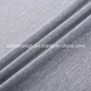 100% Polyester Melange Single Jersey Knitting Fabric for Sport Garment pictures & photos