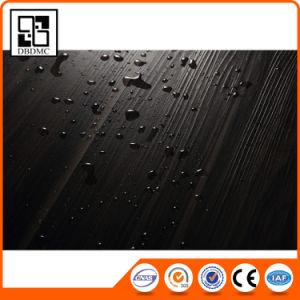 No Glue Non-Slip Wood Grain Click PVC Floor Vinyl Tile pictures & photos