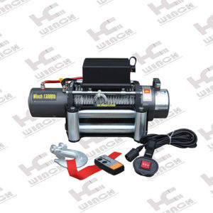 13000lb Electric Winch with Key Way Cam Clutch (SC13.0X) pictures & photos