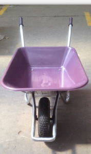 Heavy Duty Wheel Barrow with Diffirent Color Frame pictures & photos
