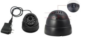 2014 New Product Built in with DVR Memory Card Dome Camera TF Card Infrared Indoor Camera pictures & photos