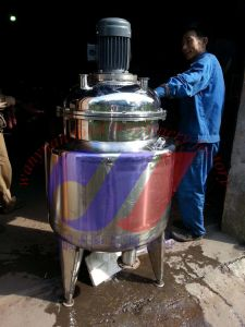 Stainless Steel Heating Mixing Reactor pictures & photos
