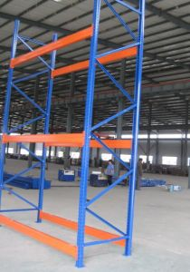 3-5 Layers Selective Heavy Duty Pallet Racking with Teardrop Hole pictures & photos