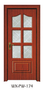 Trustworthy PVC Door (WX-PW-174) pictures & photos