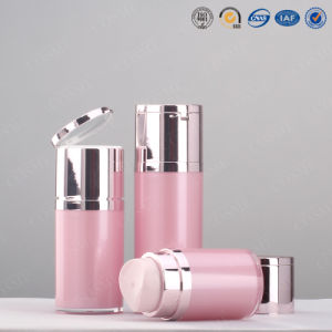 15ml 30ml 50ml 80ml 100ml Skincare Cosmetic Packaging Push Button Plastic acrylic Lotion Pump Airless Bottle pictures & photos