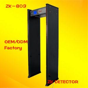 33 Zones Walk Through Door Frame Metal Detectors (ZK-803) pictures & photos