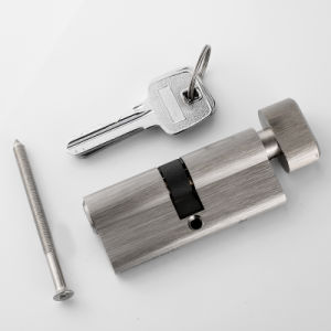 European Style Single Key Cylinder with Thumbturn pictures & photos