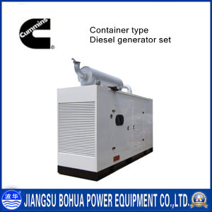 Container Type 250kVA Water-Cooled Cummins Diesel Electric Generator Set