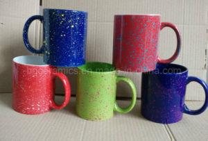 Ceramic Mug with Spray DOT pictures & photos