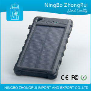 8000 mAh Portable Cell Phone Solar Panel Charger for Samsung Mobile Phone pictures & photos