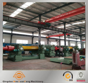 Rubber Mixer Two Roll Open Mixing Mill Machine ISO Certification pictures & photos