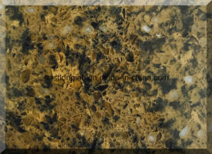 Double & Multiple Colors Engineered Stone Quartz Slab for Building Material pictures & photos