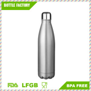 Vacuum Insulated Wave Bottle - Double Walled Stainless Steel Water Thermos - Sweat Proof & Leak Proof - Cola Style Hydro Swell pictures & photos