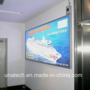Poster Frameless Aluminium LED Supermarket Media Backlit Banner Display Signage Light Box pictures & photos