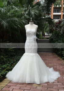 Mermaid Ivory Venice Lace Wedding Dress (M1312111)