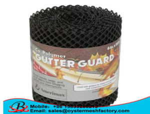 HDPE Plastic Gutter Guard Mesh for Europe Market ISO 9001