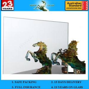 1.5-5mm Double Coated Aluminium Mirror Glass with AS/NZS 2208 pictures & photos