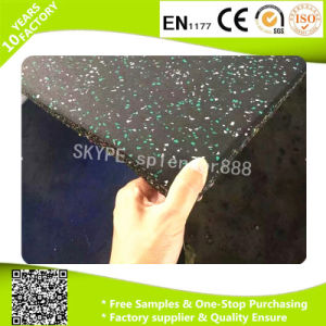 Gym Rubber Floor Mat Anti-Slip Rubber Floor Mat pictures & photos
